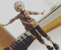 I hate that I love him so (pokori) Tags: minifee mnf rheia boy fairyland actlive line normal body bjd ns msd