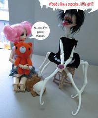 HorrorModHead!Esmee (sweetmeika) Tags: bjd abjd dollchateau dollzone elizabeth aimi horrormod spider gloomybear