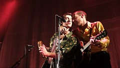 fgfdf (showbizsyndrome) Tags: the last shadow puppets live amsterdam paradiso alex turner miles kane
