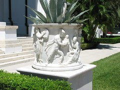 Urn (Terry Hassan) Tags: usa florida palmbeach flaglermuseum whitehall mansion urn frieze detail marble white