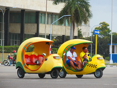 Yellow Cuban Taxi Cars (shaire productions) Tags: cuba image picture photo photograph travel street urban world traveler cuban caribbean island taxi cars yellow