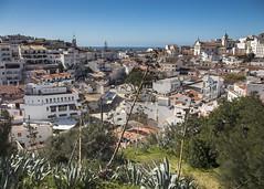 Albufeira (Hans van der Boom) Tags: vacation holiday europe portugal algarve albufeira town buildings valley lookingdown pt
