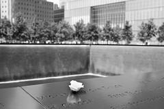 9/11 Memorial, World Trade Center (FourteenSixty) Tags: newyork nyc wtc worldtradecenter 911 september11th twintowers memorial