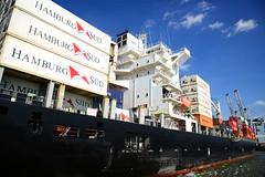 Carolina Star DST_4801 (larry_antwerp) Tags: 9210062 carolinastar metrostarmanagement metrostar container reefer hamburgsud antwerp antwerpen       port        belgium belgi          schip ship vessel