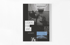 """Looking for Janis"" - Cover (LookingforJanis) Tags: livre book edition publishing bookdesign janisjoplin photos pictures roadtrip voyage travel printed"