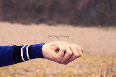 Salt of the earth (elizabethanneduffy) Tags: hand arm sand beach outdoors photoshoot woman nature blue hold people