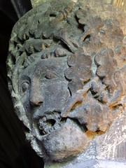 Broughton Castle, Oxfordshire (Sheepdog Rex) Tags: corbels broughtoncastle greenman
