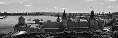Old Castle b/w (intui.pro) Tags: kamianetspodilskyi old town architecture fortress nature reserve museum tourism towers palaces temples walls history strengthening ukraine outdoor plant stronghold citadel bastion fastness stone stones stonework text ruins tower canyon hill landscape