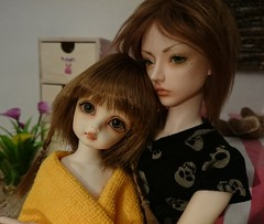 little sister (claudine6677) Tags: bjd msd yosd dim ball jointed doll mind winny withdoll aiden