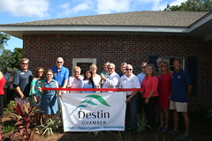 Children In Crisis - Ty Autry Pennington Home (Destin Chamber) Tags: destin chamber ribbon cutting children in crisis ty autry pennington home