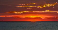 The last gasp of light, before night.... (tomk630) Tags: cape cod massachusetts sundown bay nature colors light usa