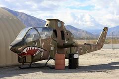 Bell AH-1G (209) Huey Cobra 67-15574 U.S. (Gerald (Wayne) Prout) Tags: bellah1g209hueycobra6715574us palmspringsairmuseum palmsprings riversidecounty california usa prout geraldwayneprout canon canoneos40d helicopter gunship attackhelicopter support bell ah1g 209 huey cobra 6715574us bellaircraft vietnamwar cn20238