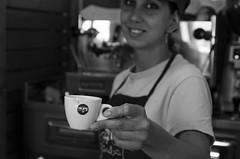 Coffee (Marco Brunetti) Tags: caff coffee portrait pentaxk30 hdpentaxda1685 bw