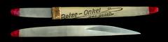 "Der ""Reise Onkel"" (altpapiersammler) Tags: old alt vintage zahnpflege toothpick reise trip feder feather kurios quaint kuriositt curio"