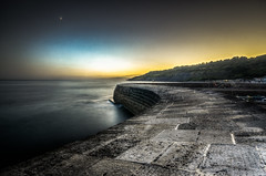 (Glen Parry Photography) Tags: glenparryphotography d7000 dorset nikon sea seascape sigma sigma1020mm thecobb seafront water ocean sunset sky longexposure