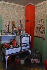 Ketchikan, Alaska - Creek Street - Dolly's House - Kitchen (jrozwado) Tags: northamerica usa alaska ketchikan kichxan creekstreet kitchen house houseofillrepute brothel dollyshouse museum