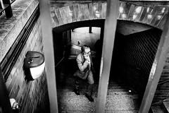 Tower Hill Suit (Robert Bosson) Tags: towerhilllondon london cityoflondon candidstreet stranger suit blackandwhitedigital trixemulation fujifilmx100t