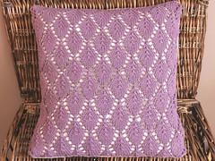 Cushion cover (Moochka) Tags: handmade gifts knitted cushions moochka