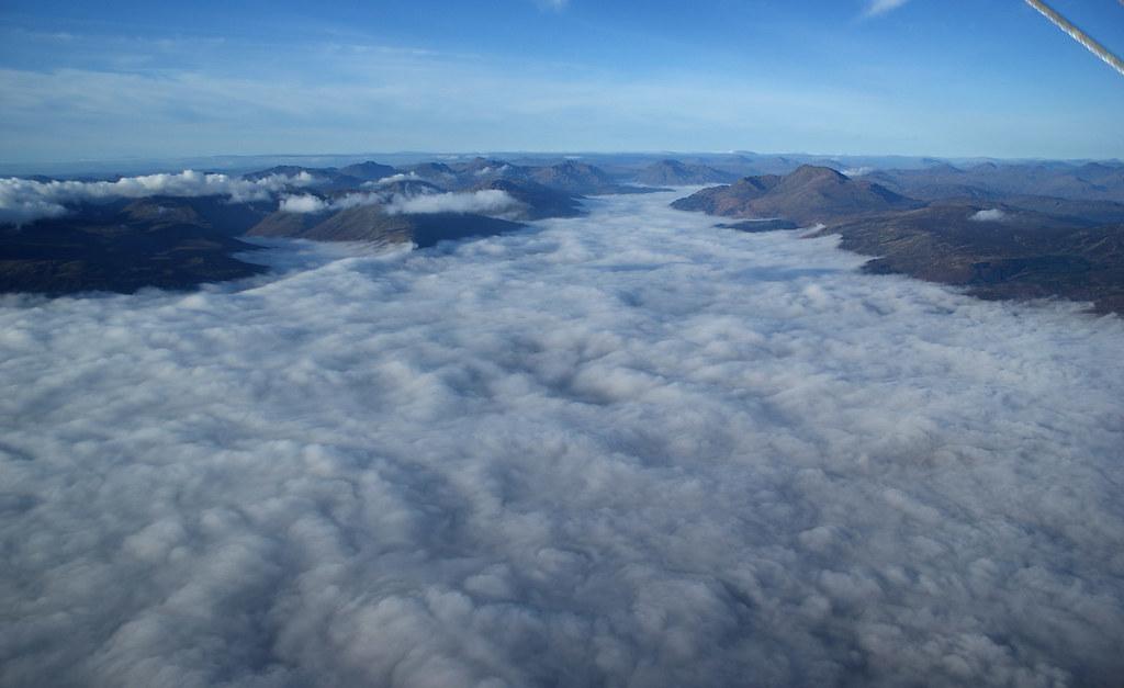 Loch Lomond - it's down there, honest.