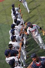 DSC04394 (shi.k) Tags: 横浜スタジアム 東京ヤクルトスワローズ 120608 イースタンリーグ ハイタッチ
