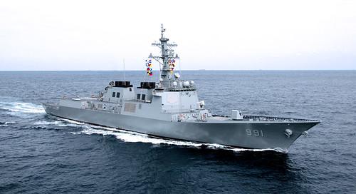 2008년9월27일 해군 세종대왕함기동 (1)