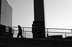 _DSC1981 (Retroman G) Tags: street city bridge bw espaa white black blanco water rio stairs 35mm river puente grey gris calle spain nikon steel negro ciudad bn bilbao escalera cielo pasarela blanc carrer negre bilbo acero nervin escala nerbioi pathscaminhos d7000