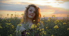 Pagan Princess (Photo Gal 2009) Tags: sunset sun girl bristol pretty may seed garland gloucestershire teen fairy daisy teenager flowergirl badminton faerie pagan teenage mayqueen flowersflower rapeoil lightevening may2012 roseyellowyellow downeveningevening sunenglish meadowmeadowenglish meadowenglish fieldenglish cropcropoilseed rapeportraitgentlefloatydreamdreamyhatgarlandflower