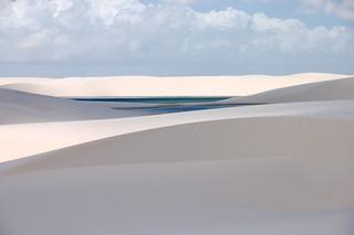 Lagoa Bonito nos Lençóis Maranhenses