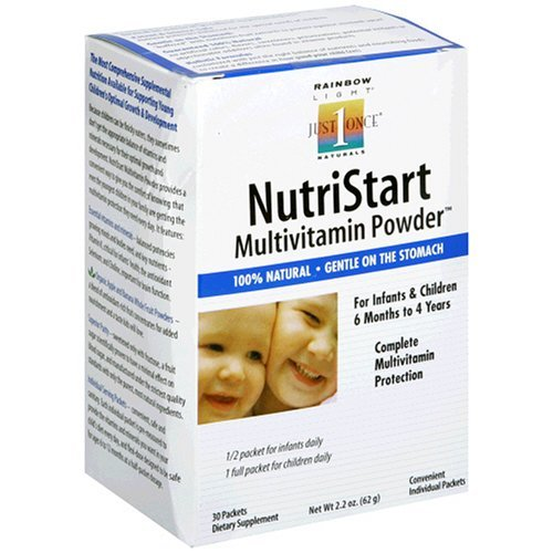 Rainbow Light Nutristart Multivitamin Powder婴幼儿复合维生素粉