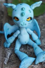 Sitting Snap Dragon (superamy777) Tags: bjd dyed flicker mushroompeddler