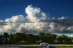 Storm Clouds (Harry2010) Tags: blue cloud storm weather day bluesky regina saskatchewan prairies