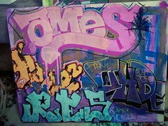 Collab Canvas (mostimportantHER) Tags: seattle graffiti acrylic her ames sharpie res result nbd btm ohde paintpens herher 3ak flickrandroidapp:filter=sydney