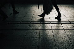 = (amenomori) Tags: street people silhouette japan lumix tokyo evening days   lightshadow  autofocus  gf1 citysnap stphotographia g20mmf17
