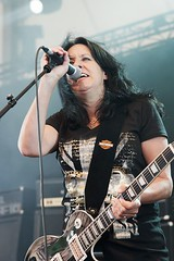 "Girlschool @ RockHard Festival 2012 • <a style=""font-size:0.8em;"" href=""http://www.flickr.com/photos/62284930@N02/7450014320/"" target=""_blank"">View on Flickr</a>"