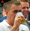 One more Beer (knightbefore_99) Tags: commercialdrive thedrive vancouver car italian festival street candid portugal pcov free day beer cerveza pivo drink cook