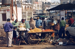 Paharganj, Delhi, India (east med wanderer) Tags: street india vegetables market delhi stall paharganj mainbazaar theindiatree worldtrekker