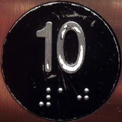 10 (mag3737) Tags: 10 elevator number button squaredcircle braille squircle 10frame