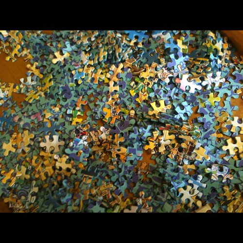 It is a puzzling sort of day...