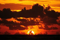 Sunset in Phuket (5ERG10) Tags: ocean sunset red sea orange sun color colour beach colors se