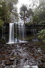 20120708-14-Russell Falls (Roger T Wong) Tags: mist water waterfall nationalpark rainforest rocks australia hike tasmania np bushwalk canonef1740mmf4lusm tramp russellfalls canon1740f4l mtfield canoneos5dmarkii