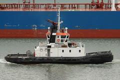 041110-824F (kzzzkc) Tags: italy harbor nikon tugboat d200 livorno appennino meiterranean portobaratti