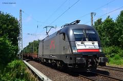 ES 64 U2 029 TXL (vsoe) Tags: train germany engine siemens eisenbahn railway zug nrw taurus bahn schwarz nordrheinwestfalen txl 182 güterzug deutschand mrce es64u2 rungenwagen