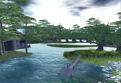 Lake Wank (Coral Lacey   Miss Chelsea) Tags: life lake grid great blogger sl secondlife second hop wank challenge