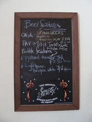 The Sailor's Board (knightbefore_99) Tags: street beer bar vancouver menu pub board main sunday jerry drinks whip local sailor eastvan