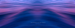 The Wings of the Dawn (simonrim) Tags: ocean blue abstract motion water dawn wings purple reflect wingsofthedawn