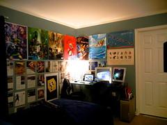 Lair (Old) (NickGrgrio) Tags: apple batcave bedroom mac brothers nintendo spiderman super mario batman zelda legend 2012 macbook