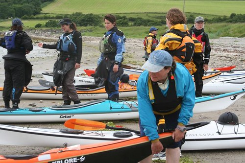 Scottish Womens Sea Kayaking Festival 20