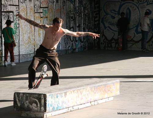 Tatooed Skateboarder 2