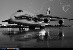 Volga-Dnepr AN124 (360 Photography) Tags: rain weather plane airplane montreal aviation pluie dorval avion mto antonov an124 cyul mathieupouliot volgadnerp