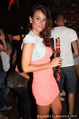 Aura Beach Club (308) (Alexandre C. Moreira) Tags: barcelona party espaa beach club night noche cantor spain espanha dj fiesta c singer noite festa aura cantante discoteca moreira supermartxe lexandre